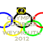 OLYMPIC SQUIBBER  WEYMOUTH 2012 - Personalised Poster A1 size