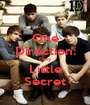One Direction: Dirty Little Secret - Personalised Poster A1 size