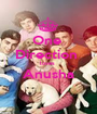 One  Direction  loves  Anusha  - Personalised Poster A1 size