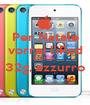 Per Natale vorrei l'iPod touch da  32g, azzurro  - Personalised Poster A1 size