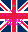 PLAY PROFESSOR LAYTON VS PHEONIX WRIGHT - Personalised Poster A1 size