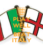 PLAY WELL AND BEAT ITALY - Personalised Poster A1 size