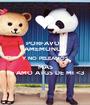 PORFAVOR AMEMONOS Y NO PELEAMOS MAS TE AMO ATGS DE MI <3 - Personalised Poster A1 size