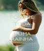 PORQUE TODA MÃE É UMA RAINHA - Personalised Poster A1 size