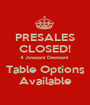 PRESALES CLOSED! 4 Jawaani Deewani  Table Options Available - Personalised Poster A1 size