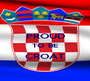PROUD TO BE CROAT  - Personalised Poster A1 size