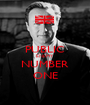 PUBLIC ENEMY NUMBER ONE - Personalised Poster A1 size