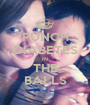 PUNCH DIABETES IN THE BALLS - Personalised Poster A1 size