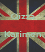 Qizza   Karimen  - Personalised Poster A1 size