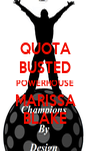 QUOTA BUSTED POWERHOUSE MARISSA BLAKE - Personalised Poster A1 size