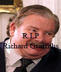 R.I.P  Richard Graffiths  - Personalised Poster A1 size