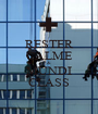 RESTER CALME & MUNDI CLASS - Personalised Poster A1 size