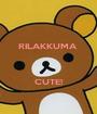 RILAKKUMA     CUTE! - Personalised Poster A1 size