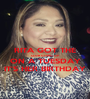 RITA GOT THE CLUB GOING UP ON A TUESDAY IT'S HER BIRTHDAY - Personalised Poster A1 size