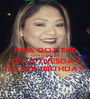 RITA GOT THE CLUB GOING UP ON A TUESDAY ITS HER BIRTHDAY - Personalised Poster A1 size