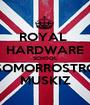 ROYAL  HARDWARE SCHOOL SOMORROSTRO MUSKIZ - Personalised Poster A1 size