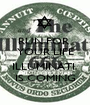 RUN FOR  YOUR LIFE BECAUSE ILLUMINATI  IS COMING - Personalised Poster A1 size