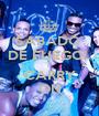 SABADO  DE FUEGO!  L CARRY ON - Personalised Poster A1 size