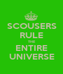 SCOUSERS RULE THE ENTIRE UNIVERSE - Personalised Poster A1 size
