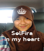 SelFira in my heart - Personalised Poster A1 size