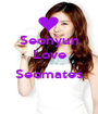 Seohyun Love  Seomates  - Personalised Poster A1 size