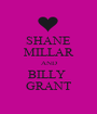 SHANE MILLAR AND BILLY  GRANT - Personalised Poster A1 size