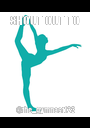 SHOUT OUT TO @the_gymnast123 - Personalised Poster A1 size