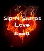 Sip N Slurps Love  Spell  - Personalised Poster A1 size