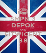 SMPN 3 DEPOK AND EITWICENT 88 - Personalised Poster A1 size