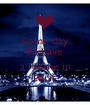 Some day I'll have  a Home in Paris - Personalised Poster A1 size