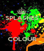 SPLASHES  OF  COLOUR - Personalised Poster A1 size