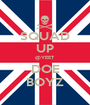 SQUAD UP @YEET DOE BOYZ - Personalised Poster A1 size
