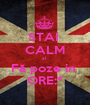 STAI  CALM si  Fă poze in  ORE:* - Personalised Poster A1 size