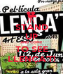 STAND UP AND COME TO SEE LLENÇA'T! - Personalised Poster A1 size