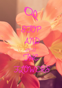 STOP AND SMELL THE FLOWERS - Personalised Poster A1 size