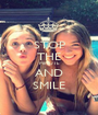 STOP THE MINUTE AND SMILE - Personalised Poster A1 size