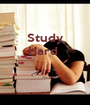 Study Hard     - Personalised Poster A1 size