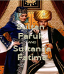 Sultan  Faruk  AND Sultanija Fatima - Personalised Poster A1 size