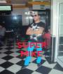 SUPER MIKE - Personalised Poster A1 size