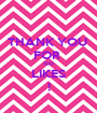 THANK YOU  FOR  100 LIKES ! - Personalised Poster A1 size