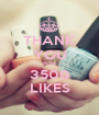 THANK YOU FOR 3500 LIKES - Personalised Poster A1 size