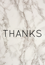 THANKS - Personalised Poster A1 size