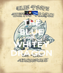 THE BLUE PEEPS WHITEY DRAGON - Personalised Poster A1 size