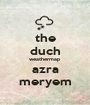 the duch weathermap azra meryem - Personalised Poster A1 size