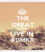 THE GREAT PEOPLES LIVE IN  #11MKR - Personalised Poster A1 size