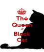 The Queen of Black Cat - Personalised Poster A1 size