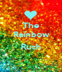 The Rainbow  Rush  - Personalised Poster A1 size