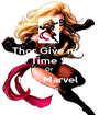 Thor Give me  The Time Stone Or  Mrs. Marvel  Dies  - Personalised Poster A1 size