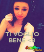 TI VOGLIO BENE <3 - Personalised Poster A1 size