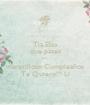 Tia Elsa que pases un maravilloso Cumpleaños Te Quiero!!! Li - Personalised Poster A1 size